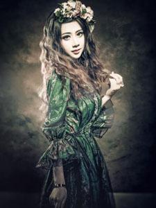 夏小薇vivi复古娃娃Lolita