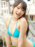 西野翔蓝色比基尼写真 性感露乳秀好身材