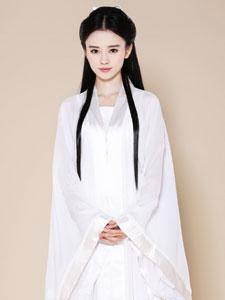 鞠婧祎扮小龙女造型美艳秒杀陈妍希