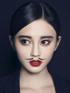 鞠婧祎张语格男人装写真