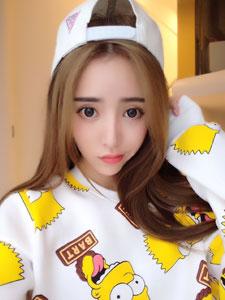 网模杨雅熙可爱卖萌照