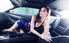 李颖芝车模美女壁纸