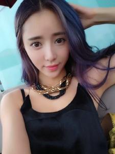 大眼甜美女孩杨雅熙自拍照