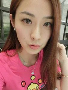 清纯美女杨雨薇生活照