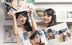萱野可芬萱野可芳雙胞胎美女桌面壁紙