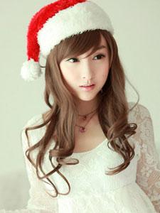 小龙女林柯彤性感可爱圣诞公主图片