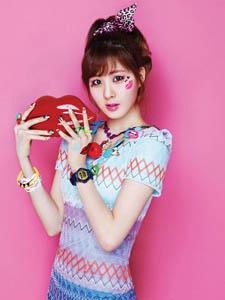 韩国少女时代高清可爱写真