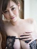 乳神杉原杏璃最新情趣露乳装写真