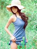 清纯美眉夏小薇唯美绿野仙踪写真