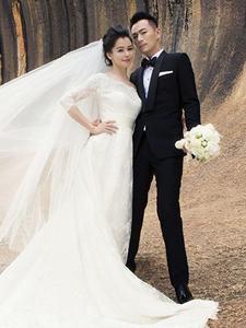 徐若瑄晒婚纱照 不老女神终于结婚了