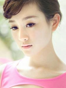 张檬时尚知性气质街拍 甜美名媛公主范