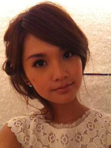 杨丞琳宝贝超可爱自拍