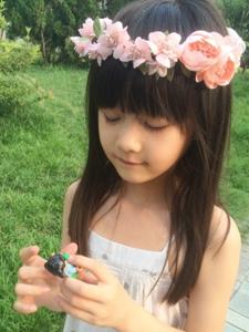 快乐小公主纪姿含生活美照