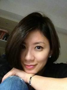 台湾女演员贾静雯自拍照