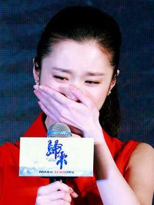 90后谋女郎张慧雯谈起拍戏时候的压力过大痛哭流泪
