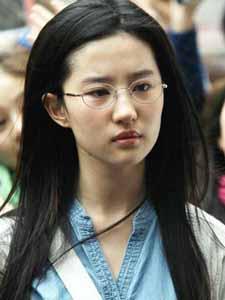 《恋爱通告》中的文艺女青年刘亦菲