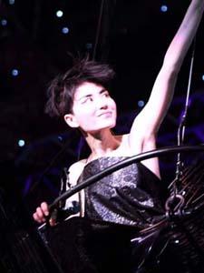 巡回演唱会中的王菲舞台照