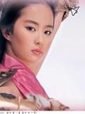 在完美游戏世界里的美女明星刘亦菲