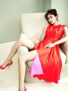 李多海杂志写真 诠释妩媚小女人
