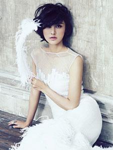张歆艺杂志写真大片 诠释优雅个性女人味