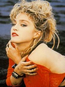 麦当娜80年代写真集