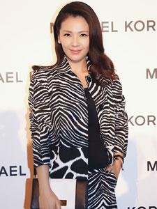 刘涛出席奢侈品牌周年庆 造型优雅美极了