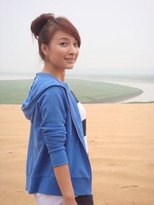 吴昕可爱面容生活写真