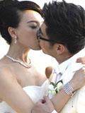 陈数与老公赵胤胤巴厘岛激吻结婚照曝光