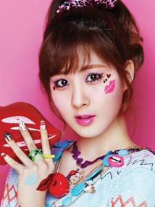 韩国人气女组合少女时代高清写真