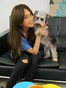 杨丞琳和她的YUMI欢乐合照
