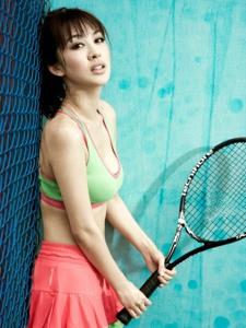 李菲儿时尚最体育性感写真