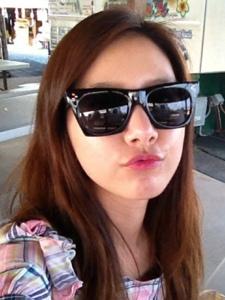 韩国可爱美女金素恩自拍照