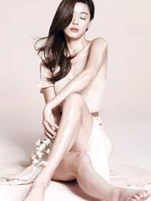 全智贤裸色裙装广告写真 光滑肌肤修长美腿