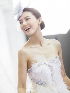 高圆圆穿白色礼服似天使 未来最想和刘青云合作