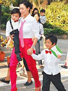 张柏芝将定居新加坡 声称方便儿子同爸爸见面