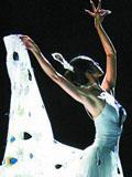 舞蹈家杨丽萍孔雀舞现场图片