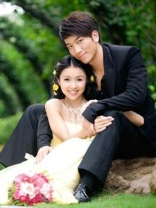 小清新美女薛凯琪唯美婚纱写真