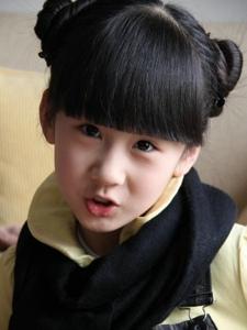 童星王可昕小时候的照片