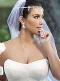 美国荡妇卡戴珊奢华婚礼现场图片