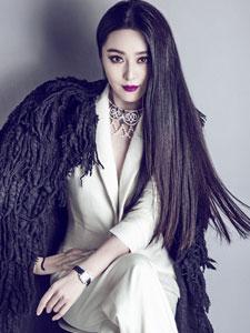 范冰冰封面写真曝光 简约时尚大展女神魅力