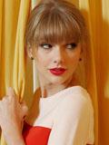 泰勒·斯威夫特甜美俏丽写真 俏皮可爱玩躲猫猫