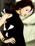 高圆圆优雅时尚封面 性感短裙都市丽人范