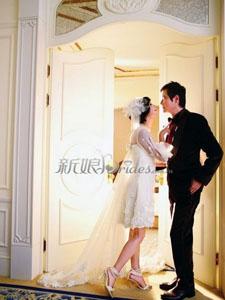 罗嘉良苏岩甜美婚姻浪漫婚纱图片