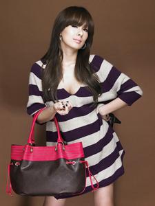 蔡妍代言产品写真时尚女郎