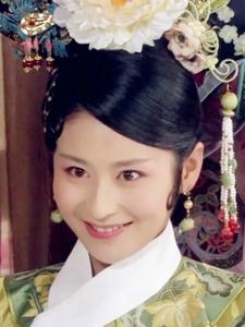 《后宫甄嬛传》颖儿饰演夏冬春古装剧照