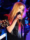艾薇儿演唱会2012现场高清图片