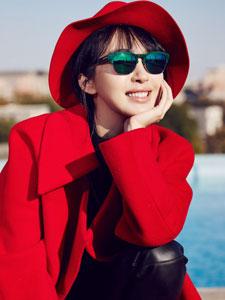 女星李菲儿时尚靓丽写真