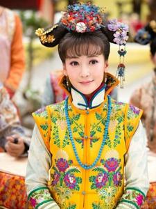 《金钗谍影》陈紫函宫廷剧照及幕后可爱自拍照