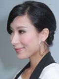 杨怡最新短发造型高清图片 精致淑女妆容气质迷人