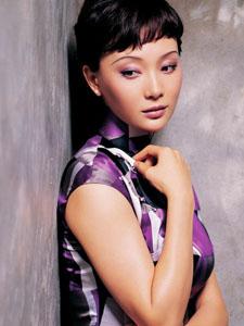 陈数旗袍装扮再现旧上海女人韵味